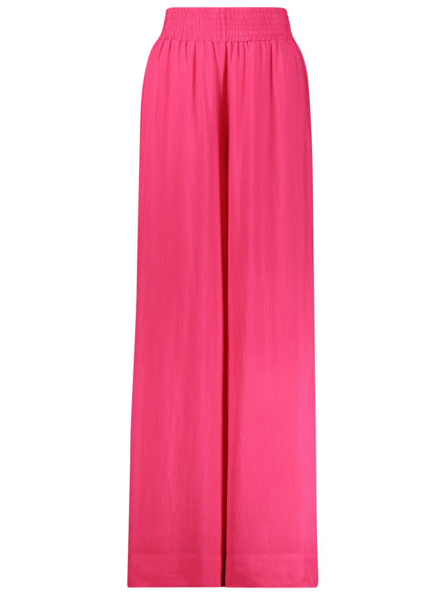Pretty-in-pink flared pants