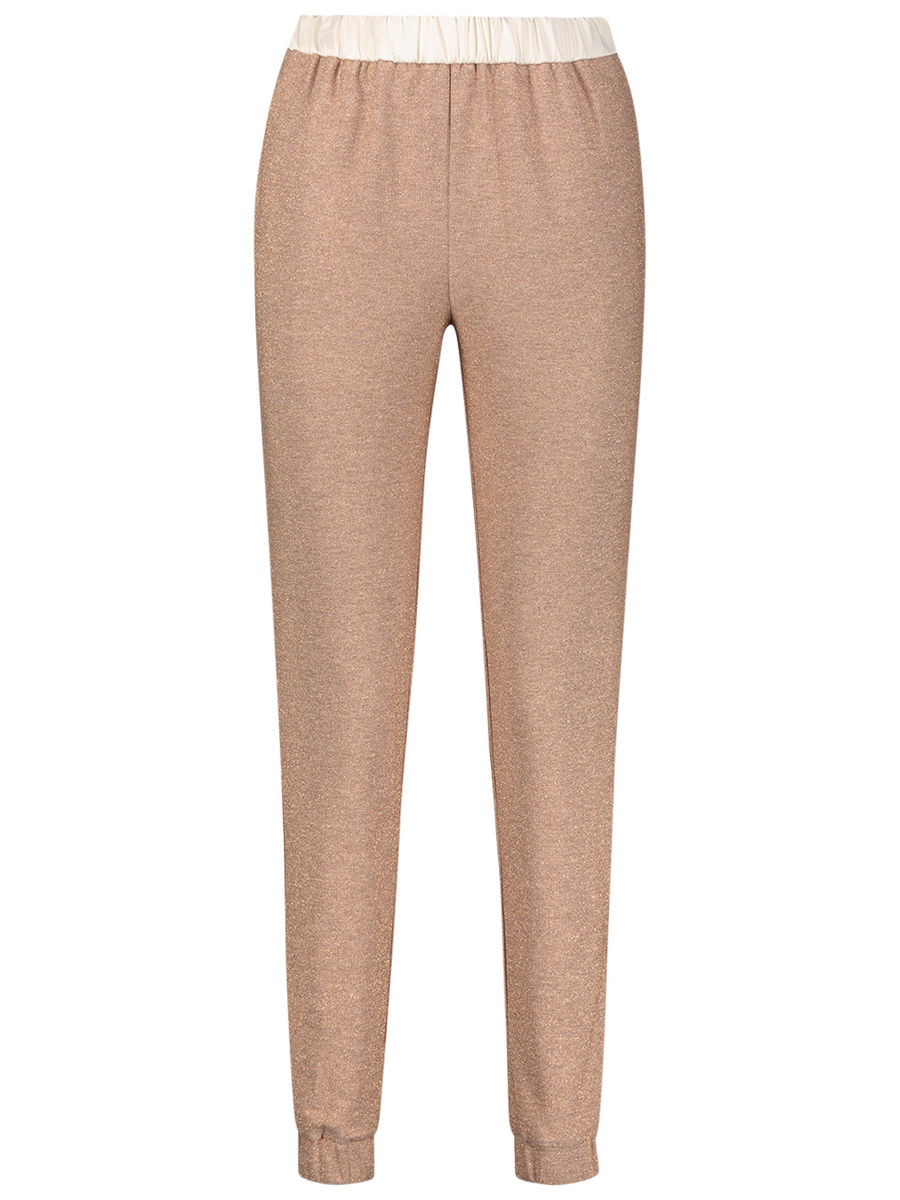 Mid-rise casual joggers