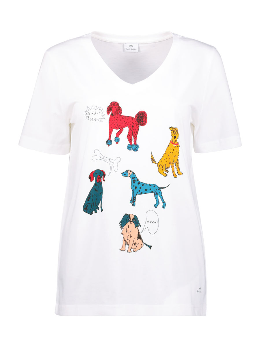 Paws for life casual top