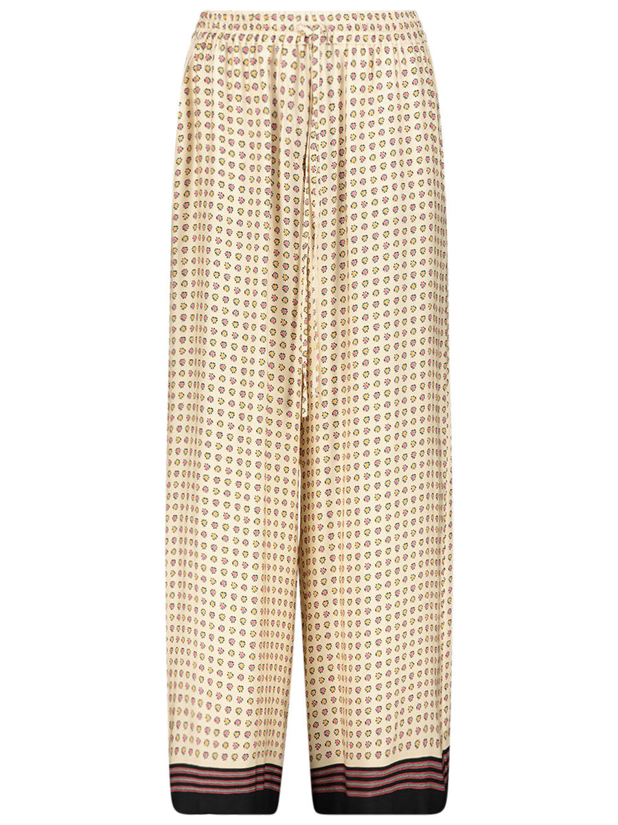 Relaxed floral trousers