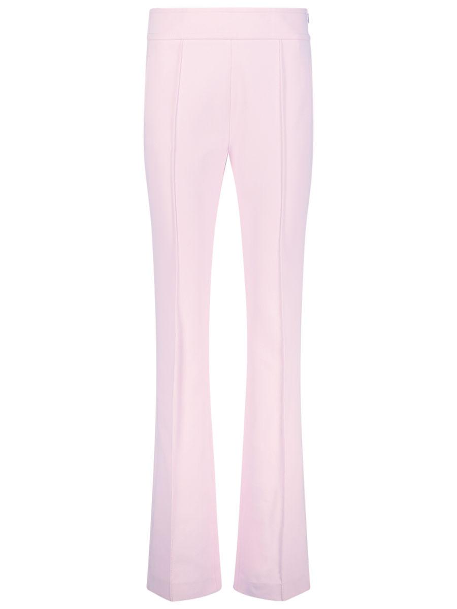 Skinny flared trousers