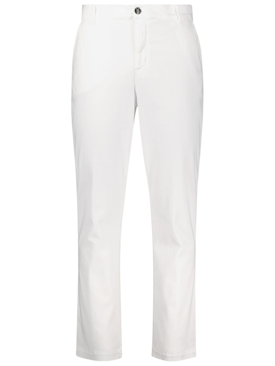 White beauty casual pants
