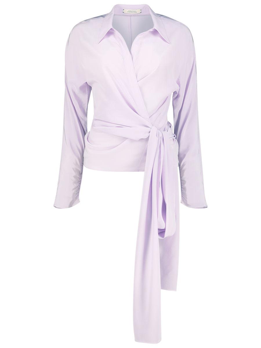 Self-tie Cynthia blouse