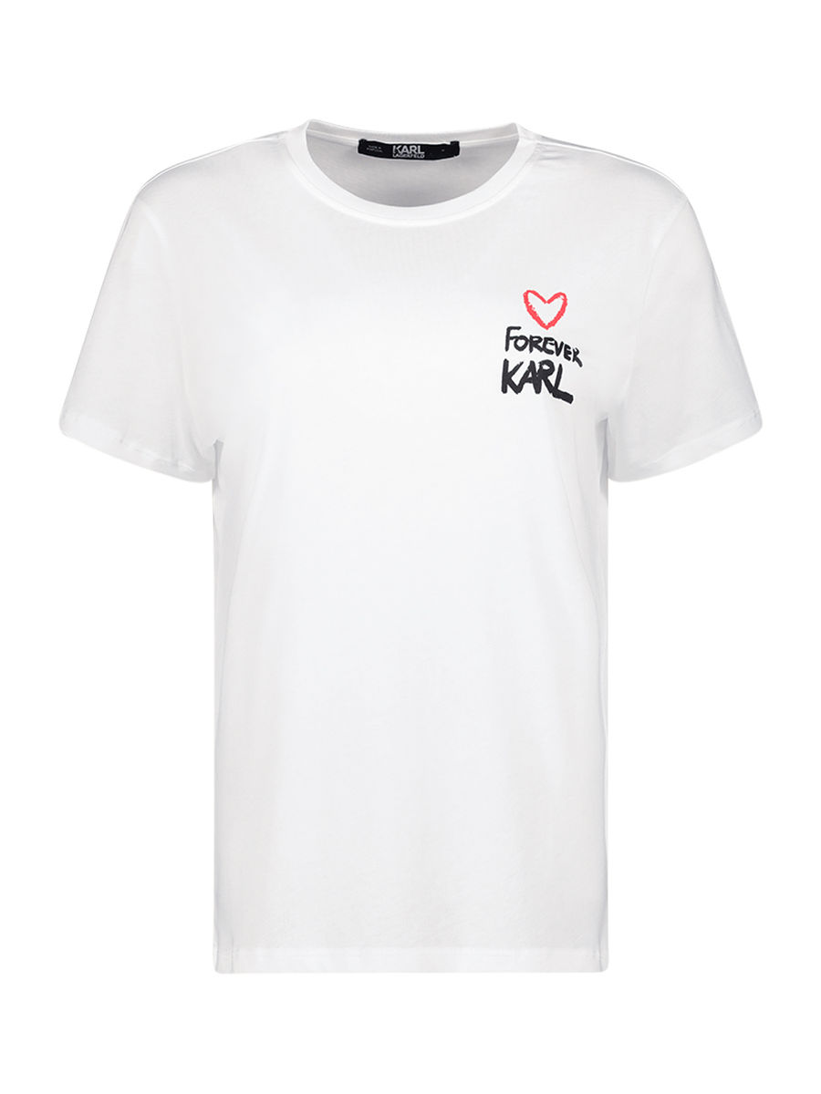Forever Karl grafisches T-Shirt