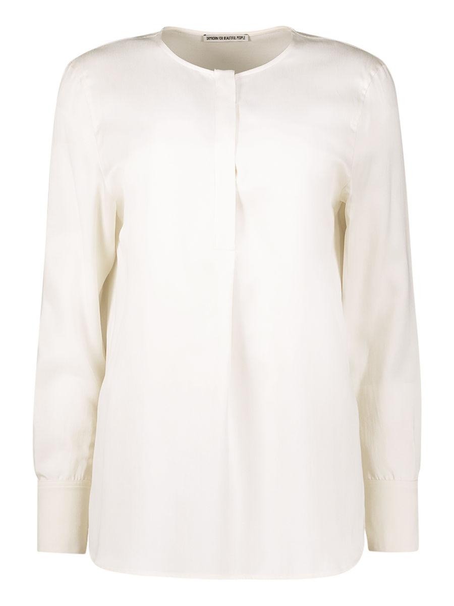 Pristine pearly shirt