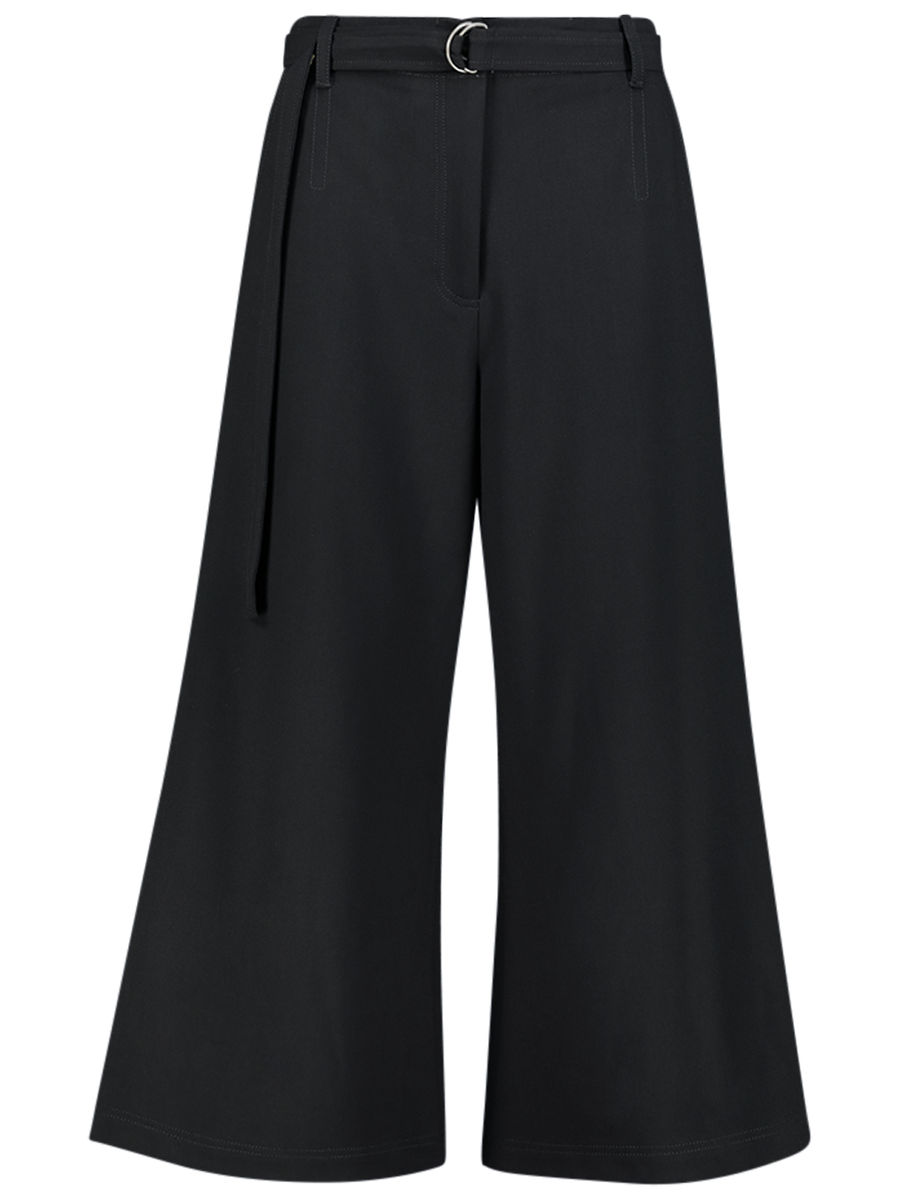 Formal flared culottes