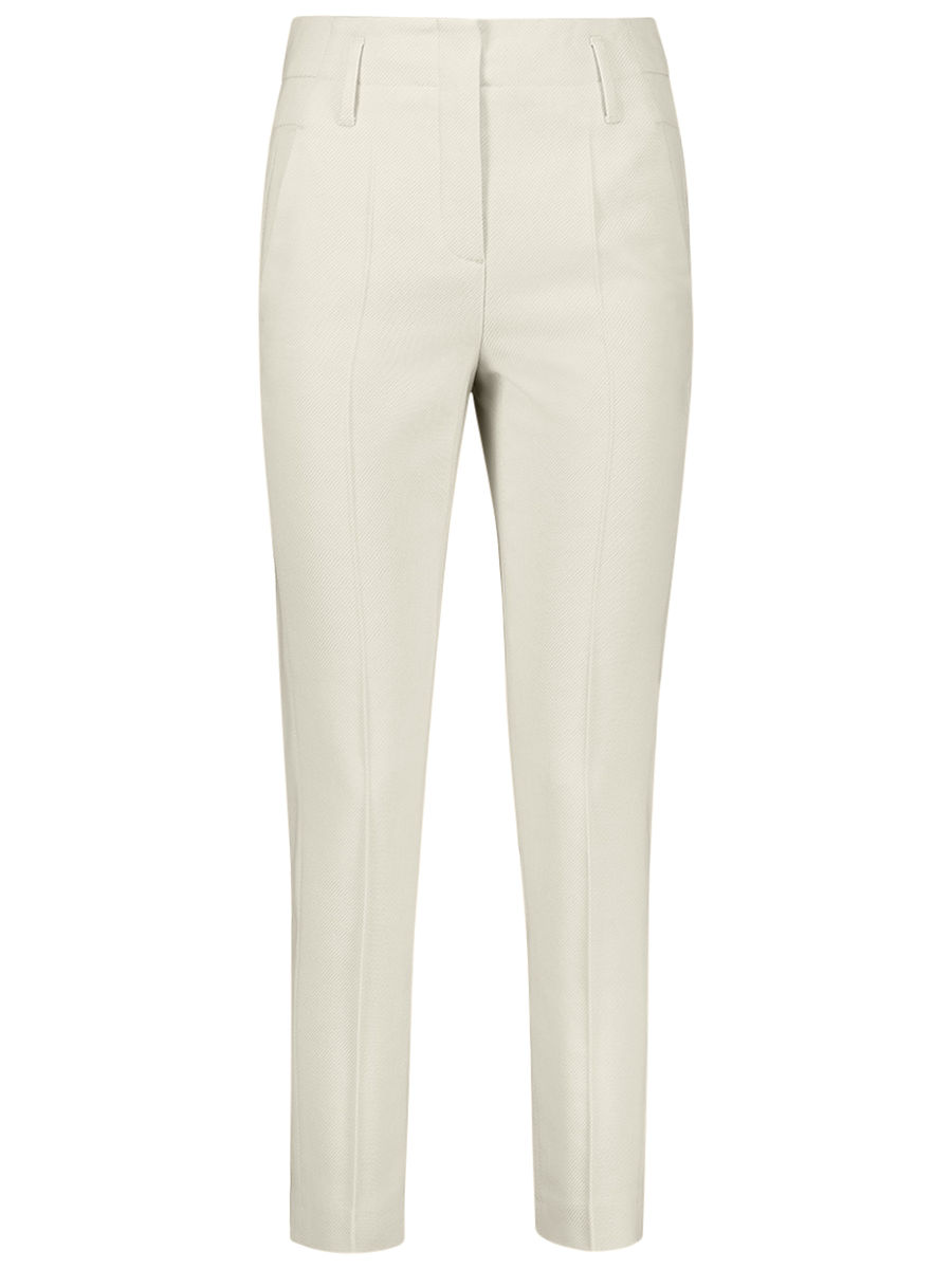 Highwaist straight trouser