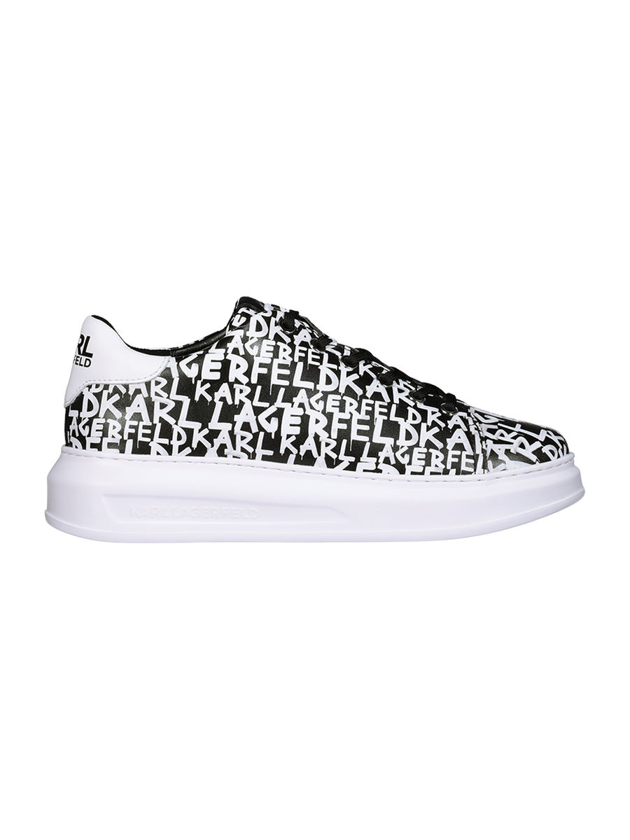 Typography signature sneakers