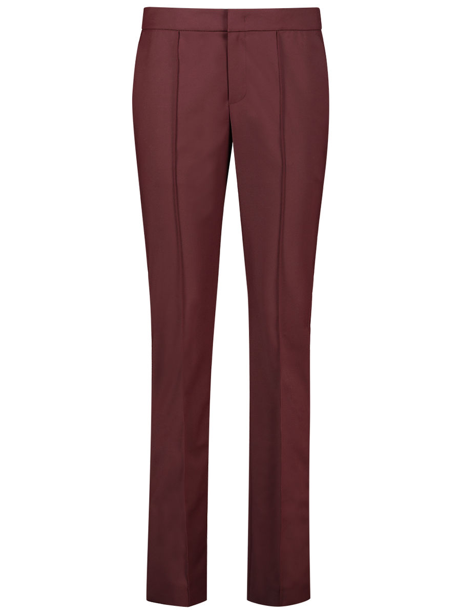 Garnet structured trousers