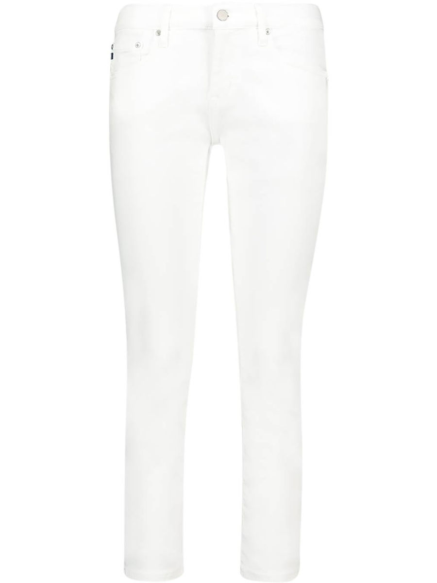 Slim-fit high-rise jeans