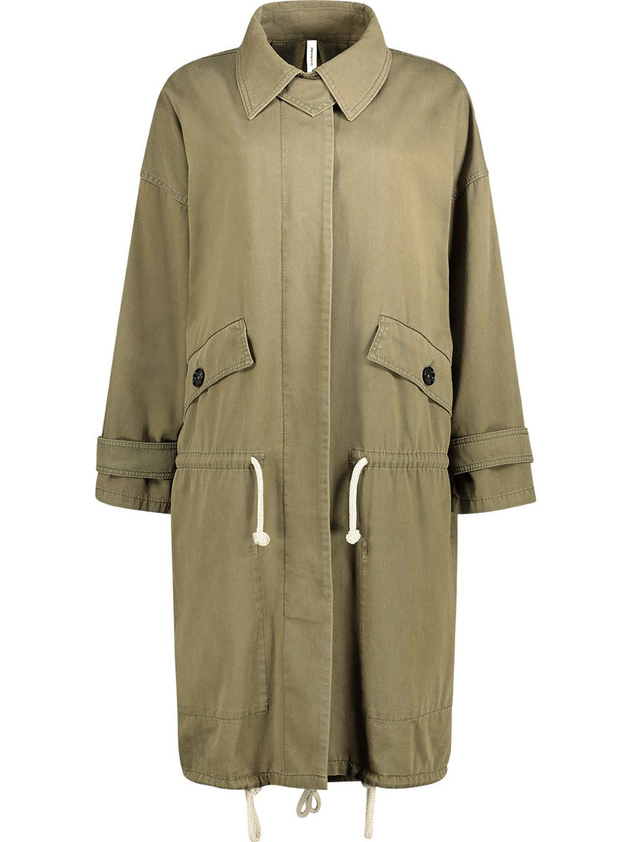 Lightweight safari overcoat
