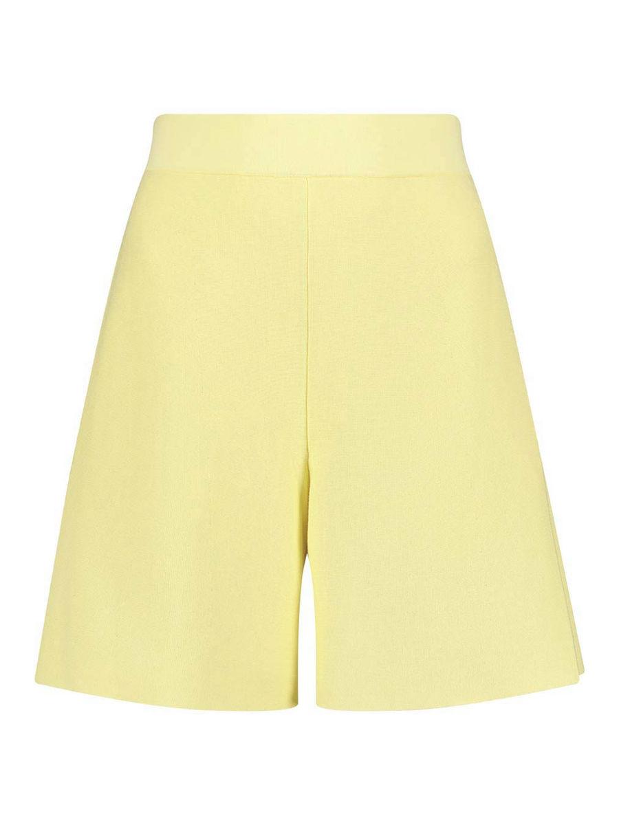 Dehnbare High-Waist-Shorts