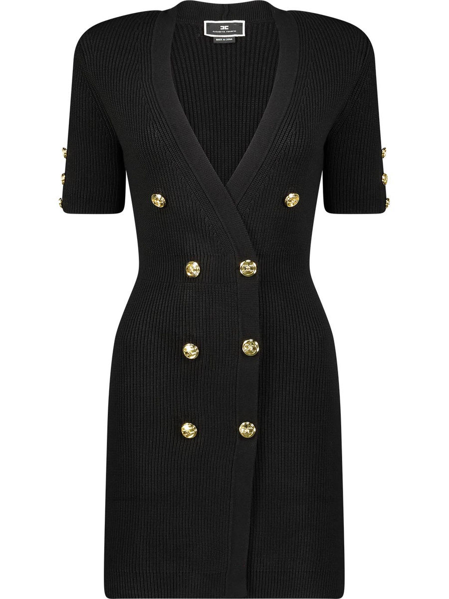 Ribbed sailor dress
