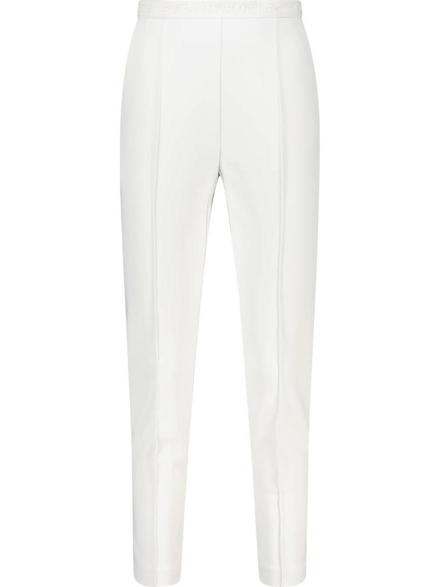 Single pleat skinny fit trousers