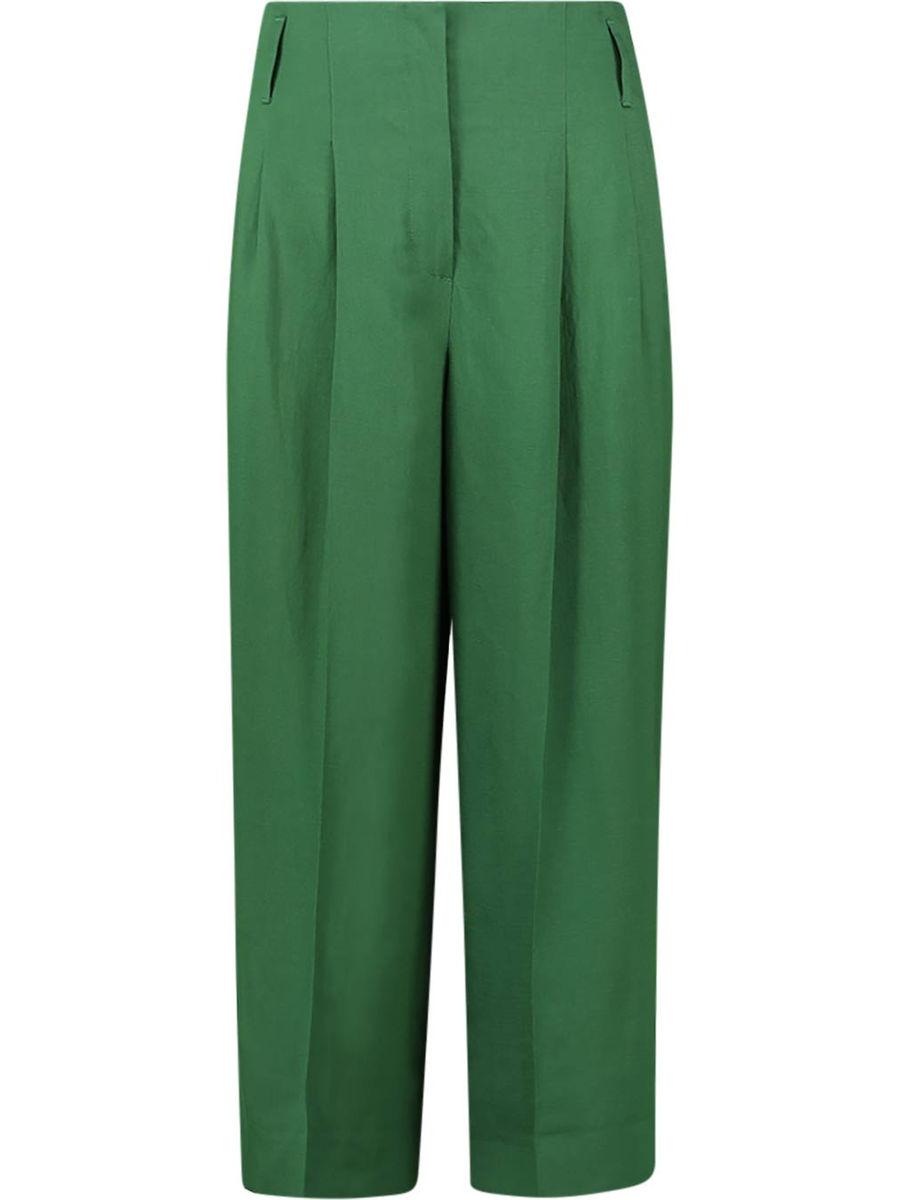 Emerald culottes