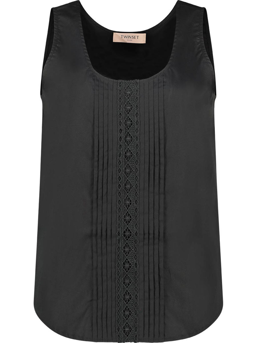 Pleated paneling top