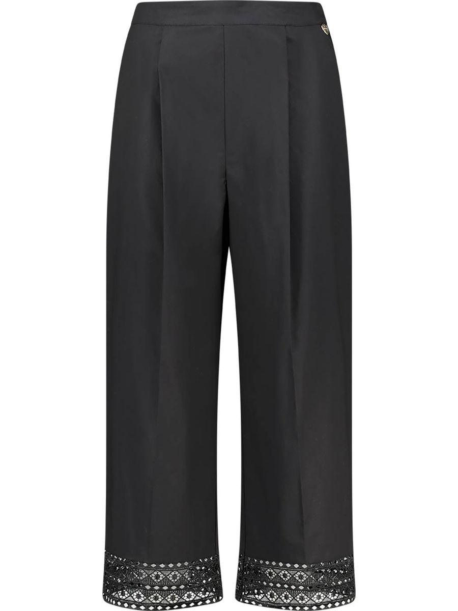 Wide-leg effortless trousers