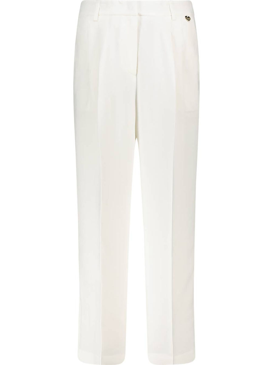 Tailored straight cut trousers
