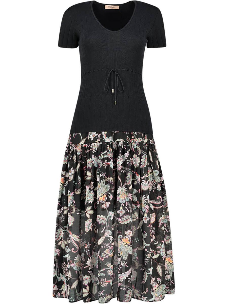 Floral essence dress