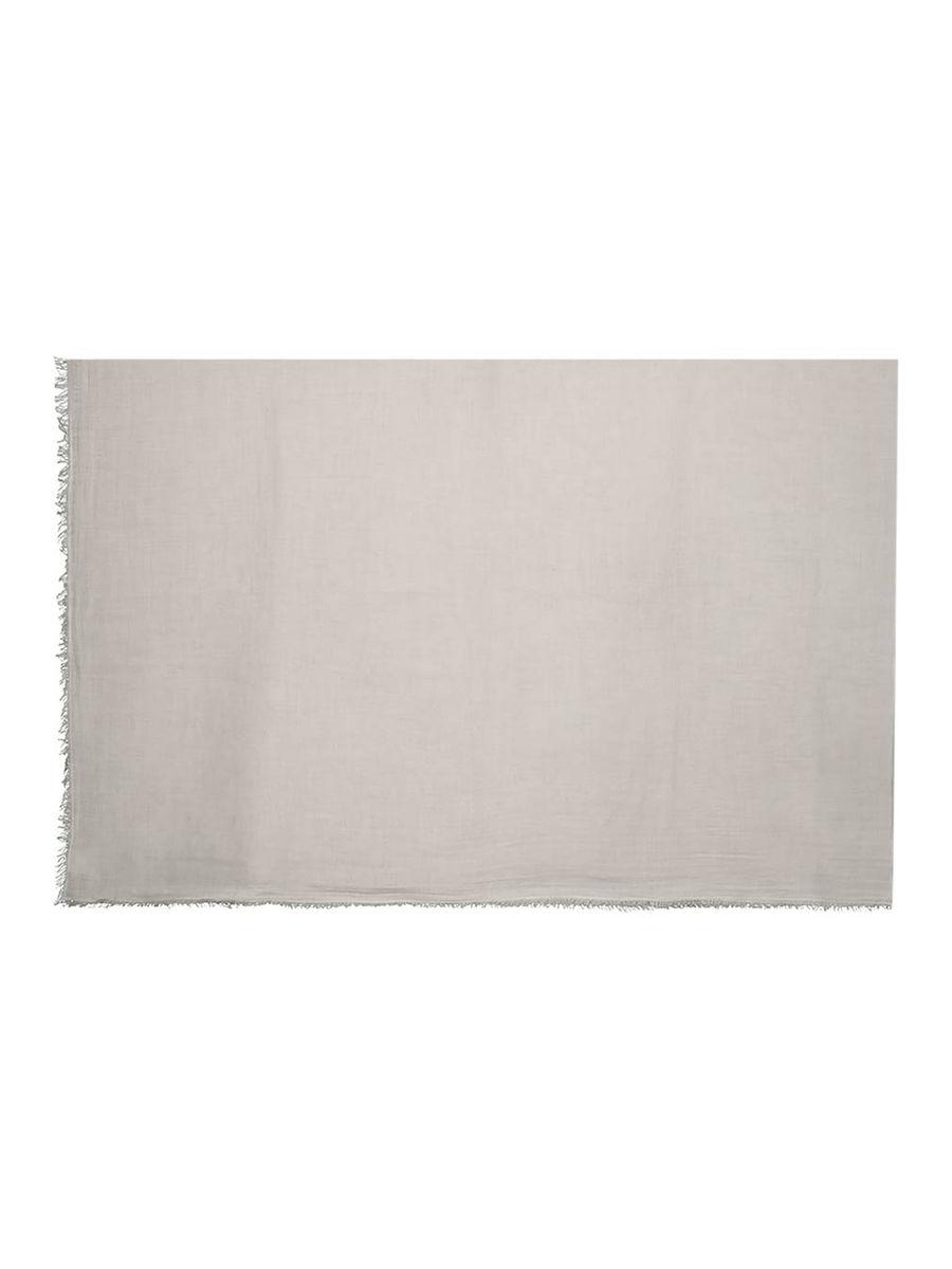 Chunky frayed-hem scarf