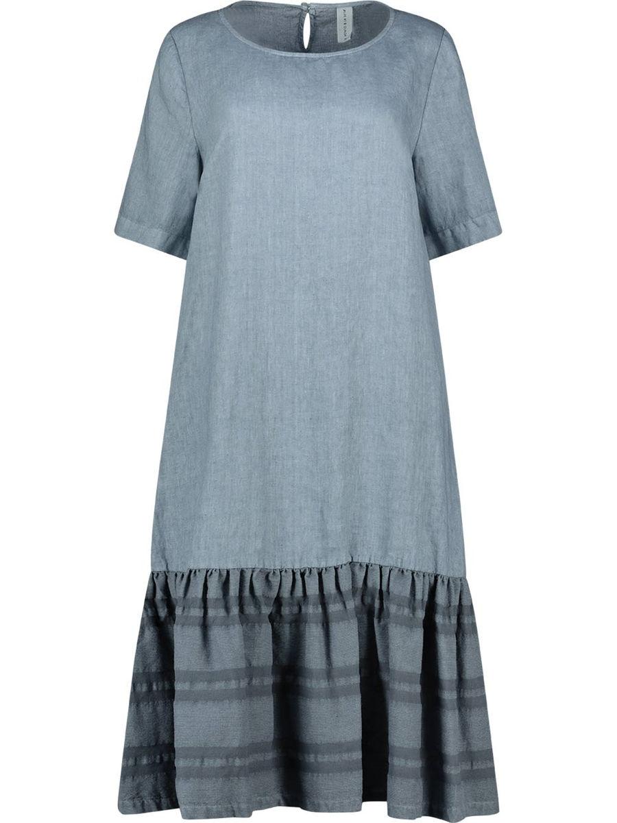 Fascinating frilled hem dress