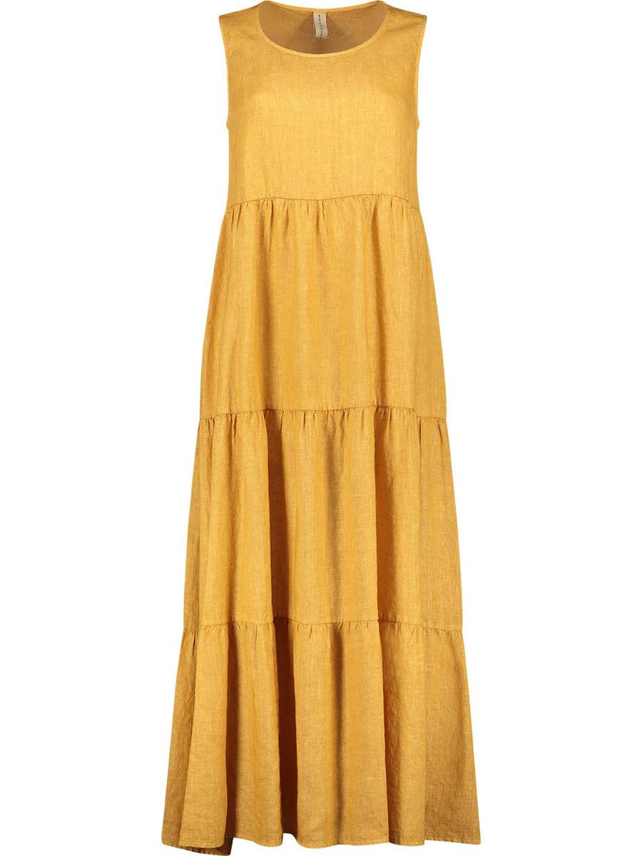 Cheerful tiered maxi dress