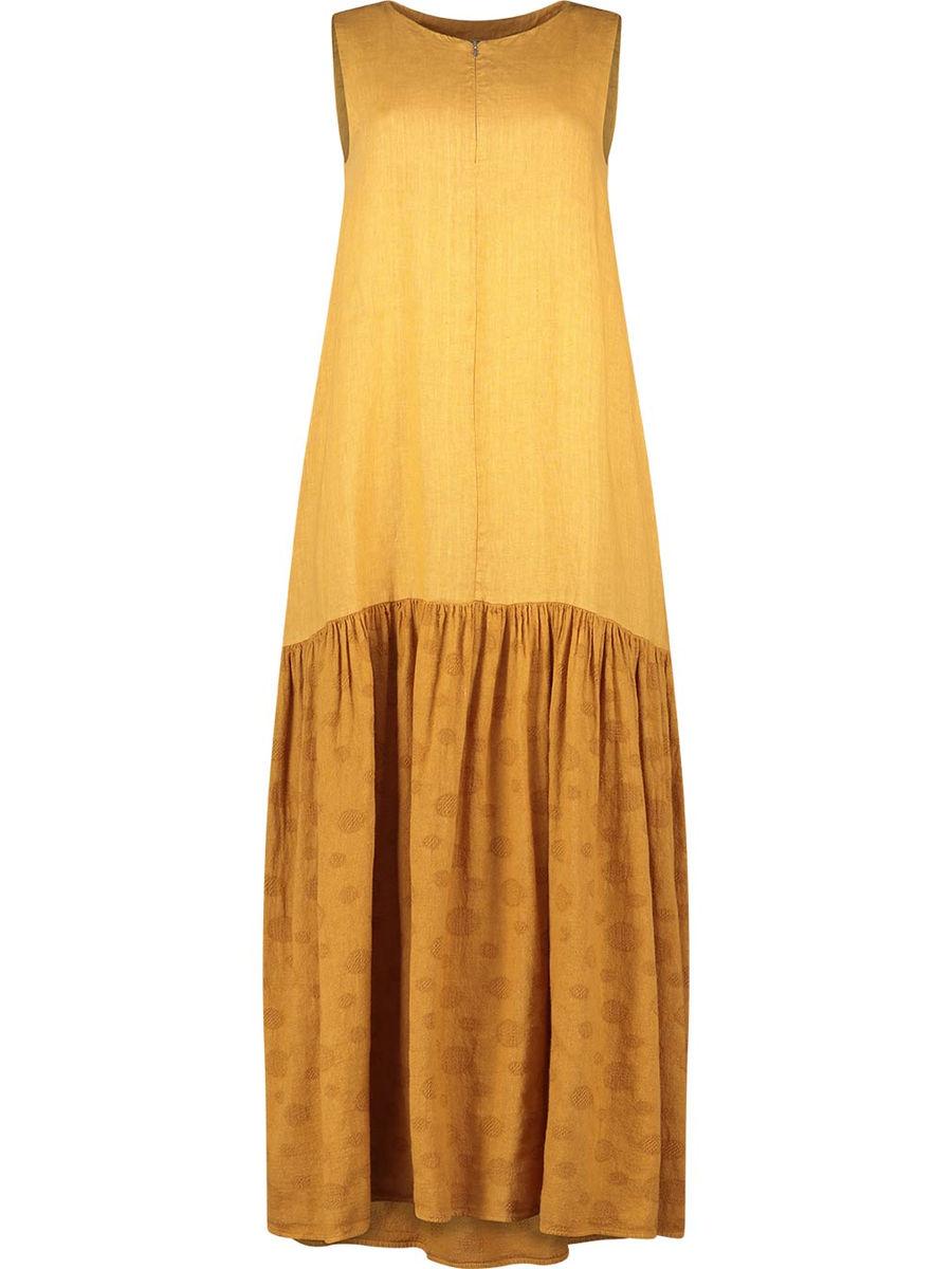 Double textured aesthetic maxi dress