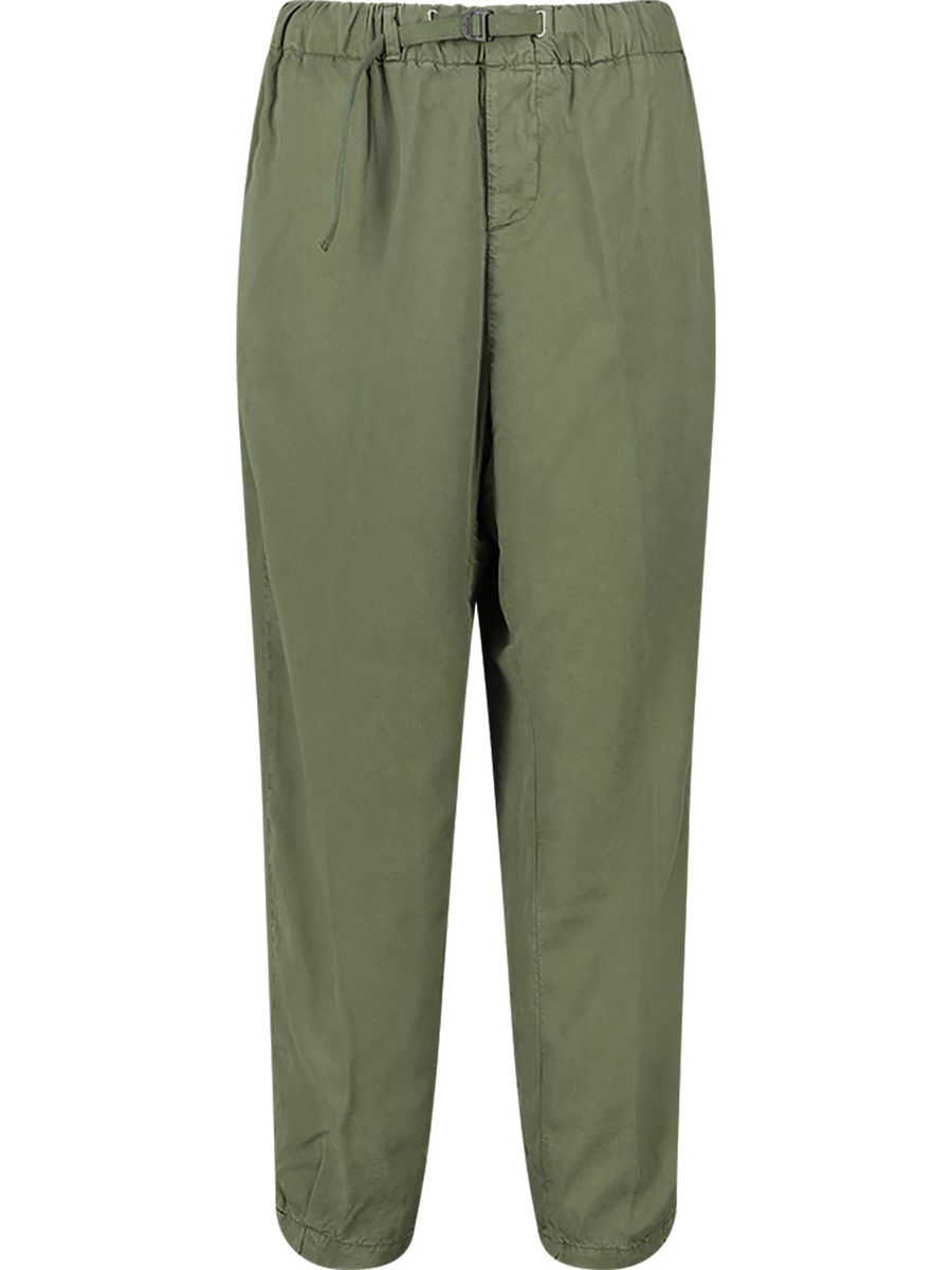 Balloon fit relaxed trousers