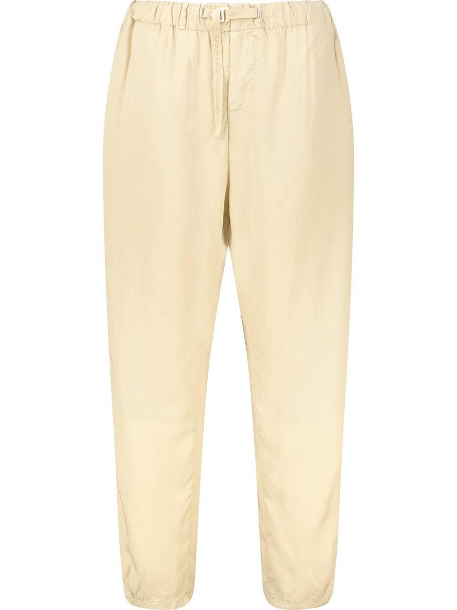 Ankle length regular trousers