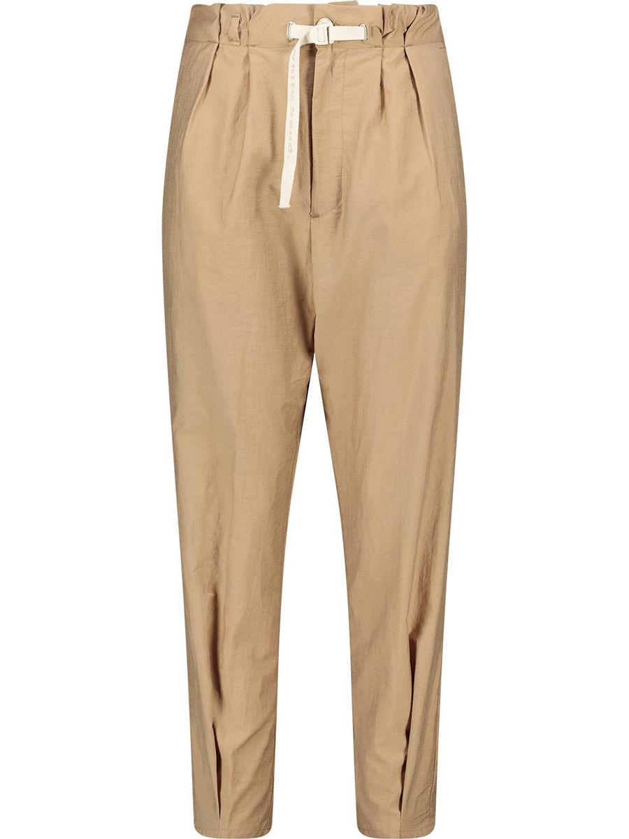 Gathered waist balloon trousers