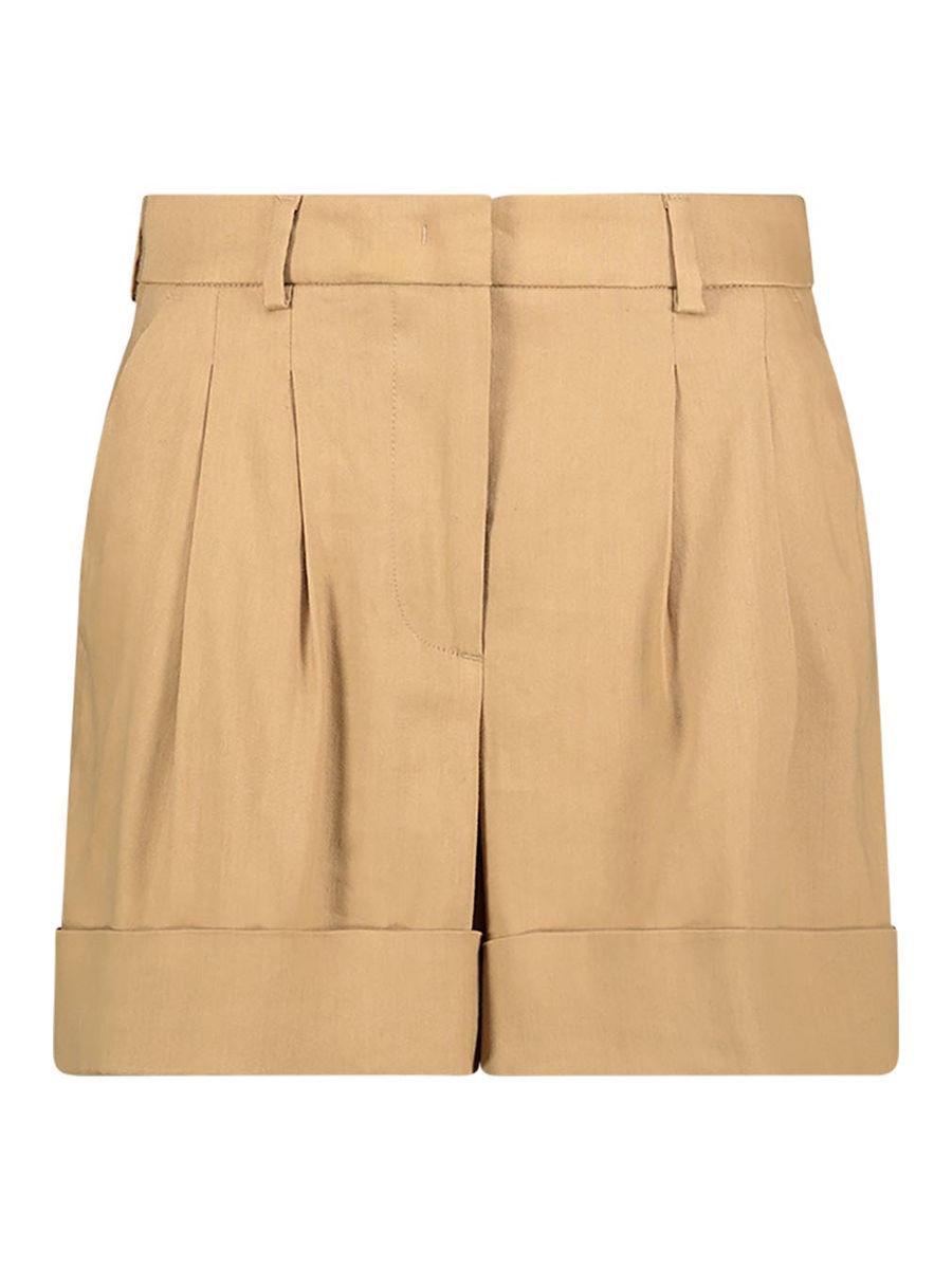 Shorts mit leichten Falten