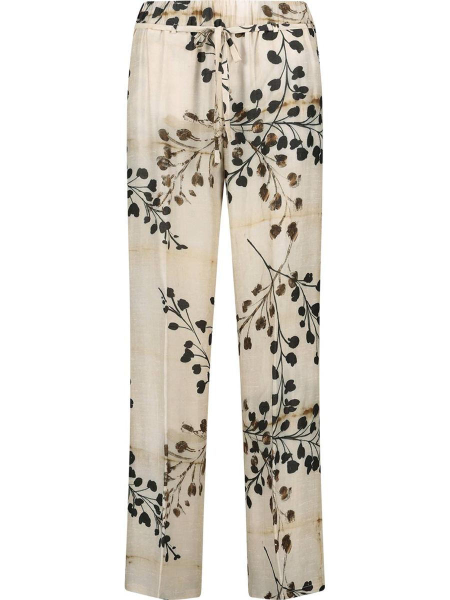 Silk blend Marlena trousers