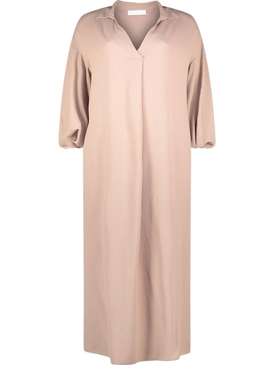 Neutral loose fit dress