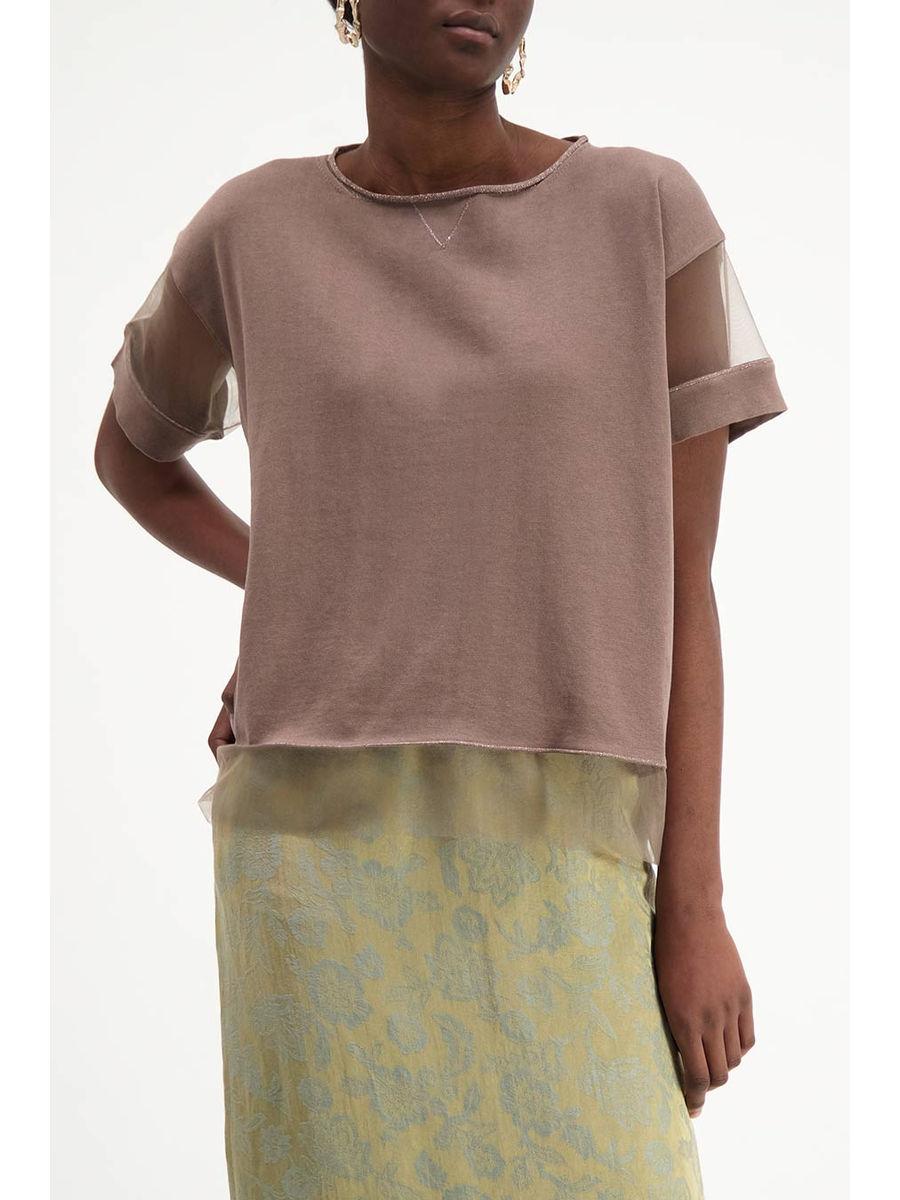Delikate Bluse aus Baumwolle