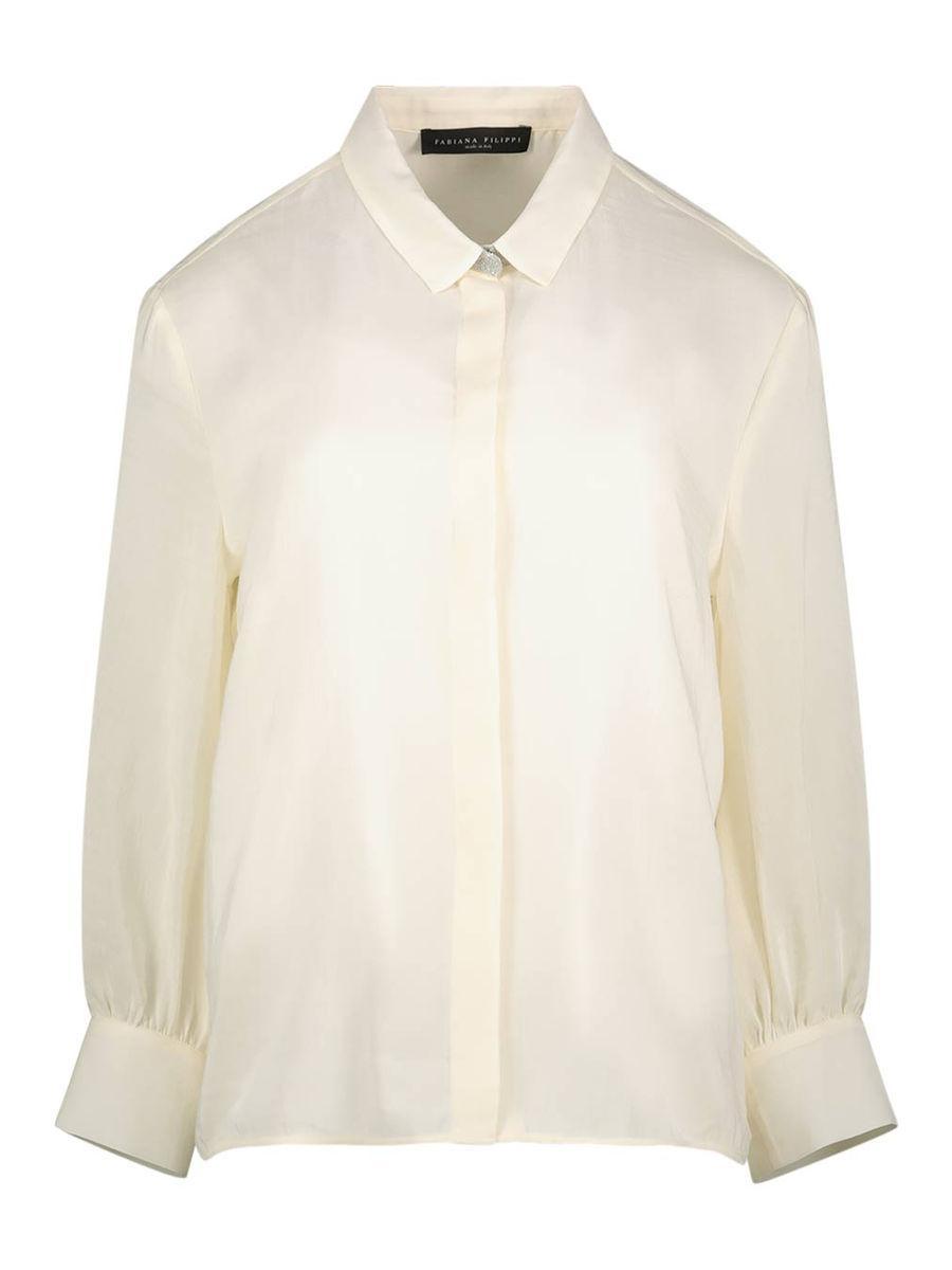 Loose fit long sleeve  shirt