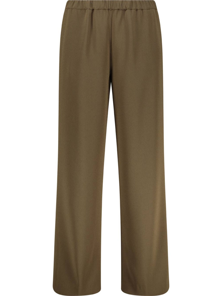 Khakhi tone straight cut trousers
