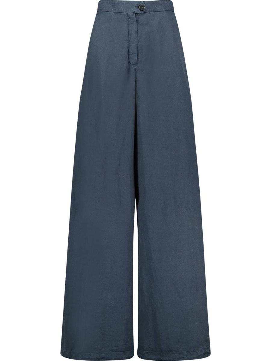 70s inspired wide leg trousers