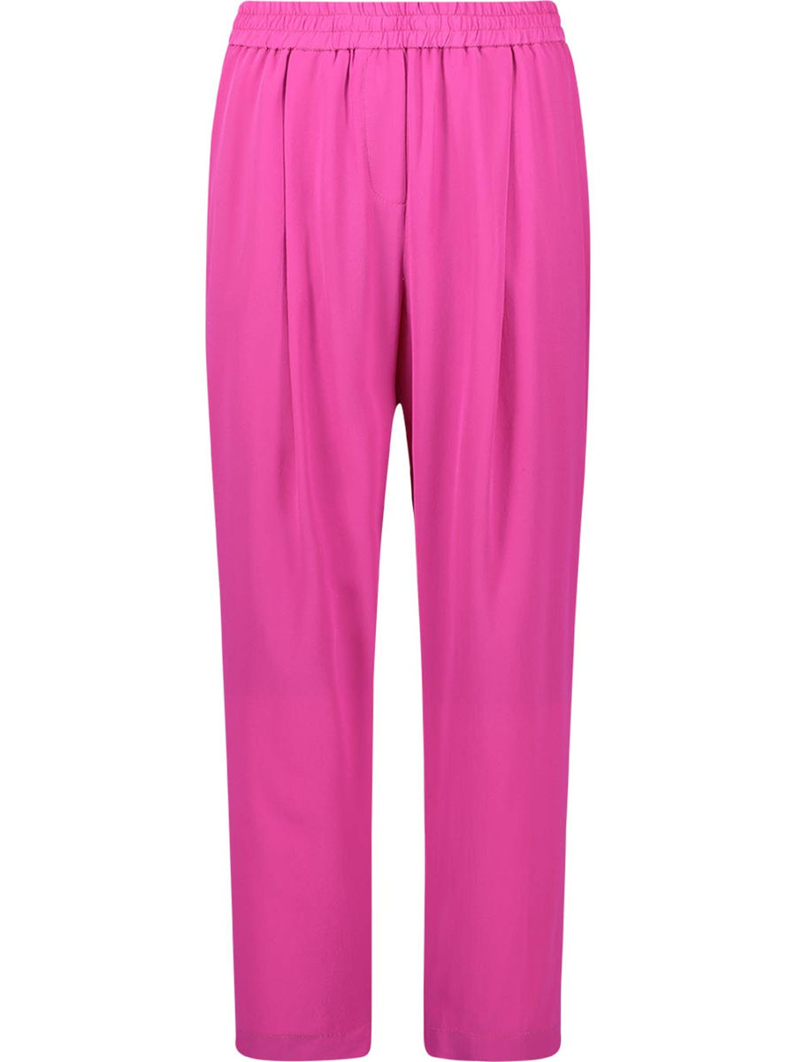 Vibrant stretch waist trousers