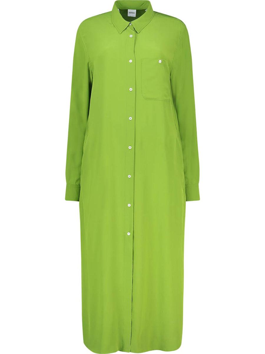 Vibrant maxi shirt dress