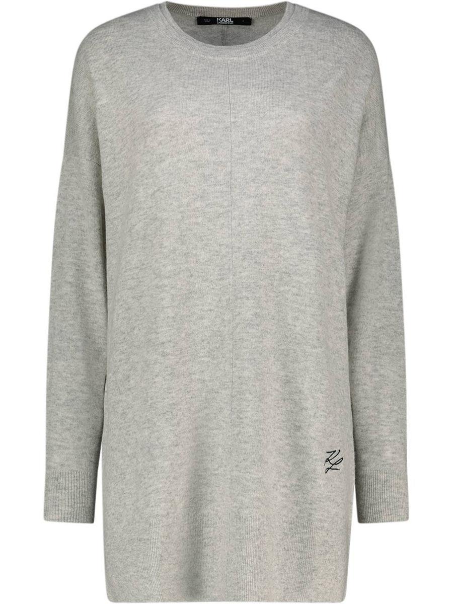 Long cashmere jumper