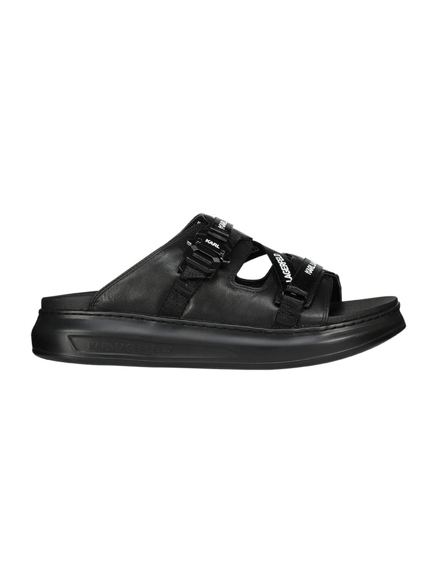 Web strap Kapri flat sandals