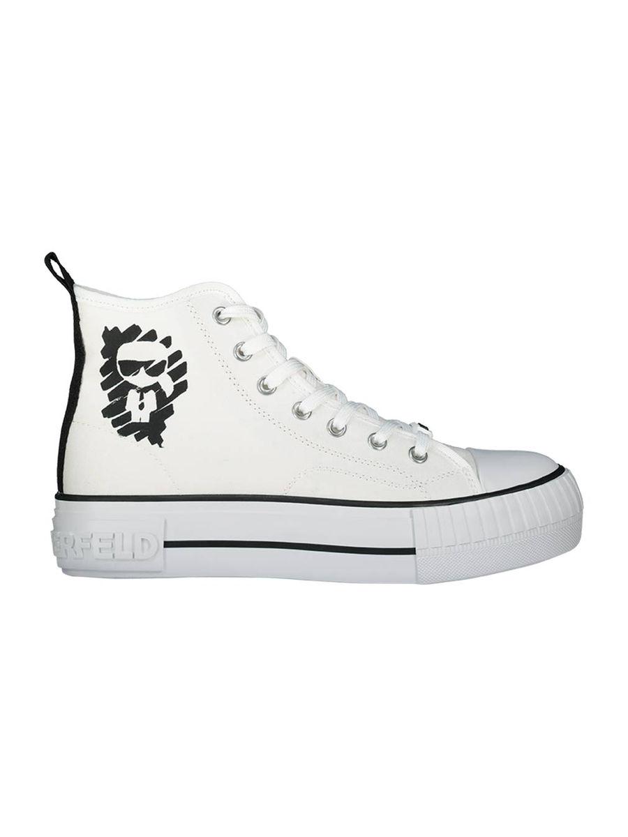Mini Karl high-top sneakers