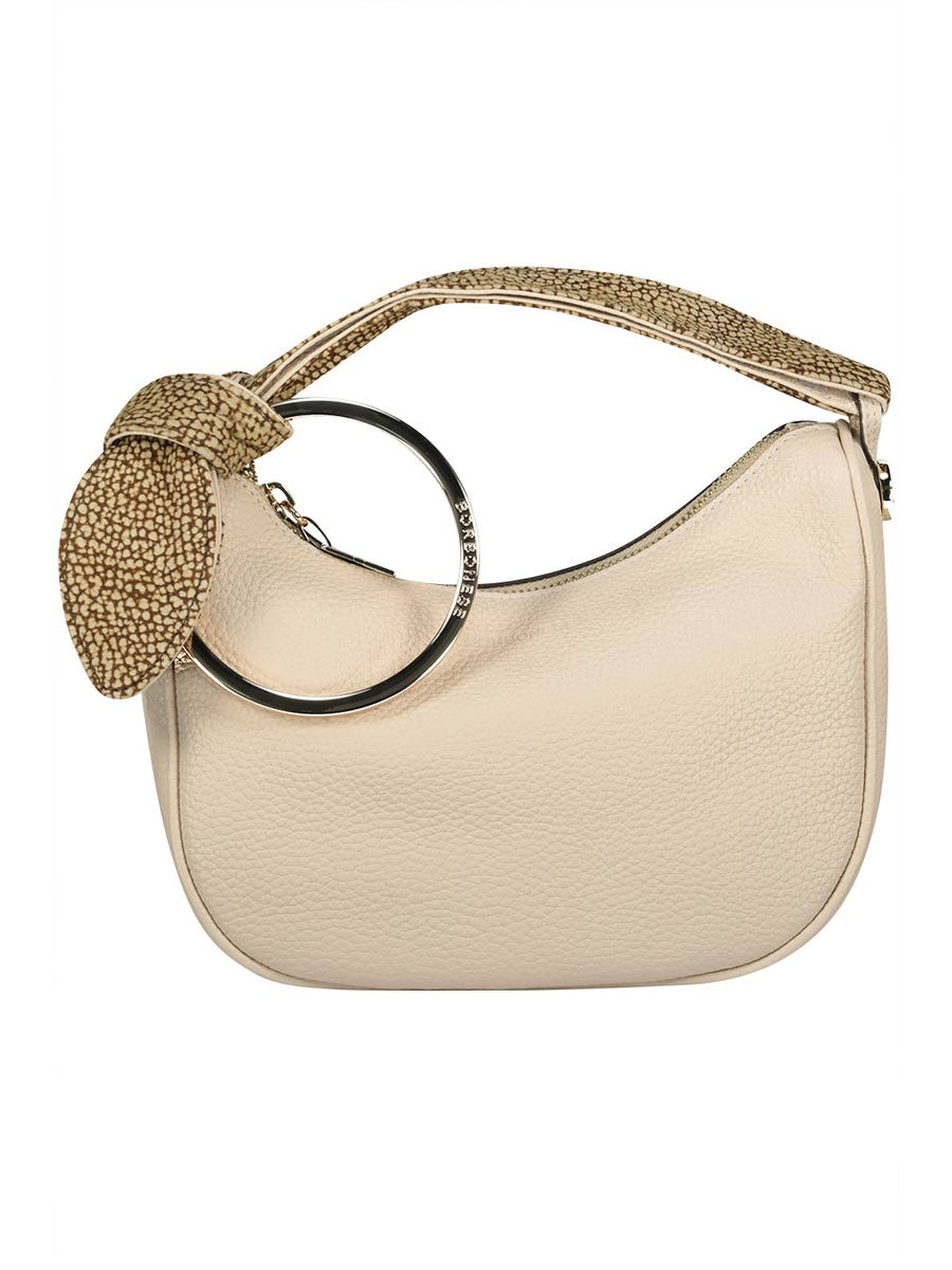 Petit neutral shoulder bag