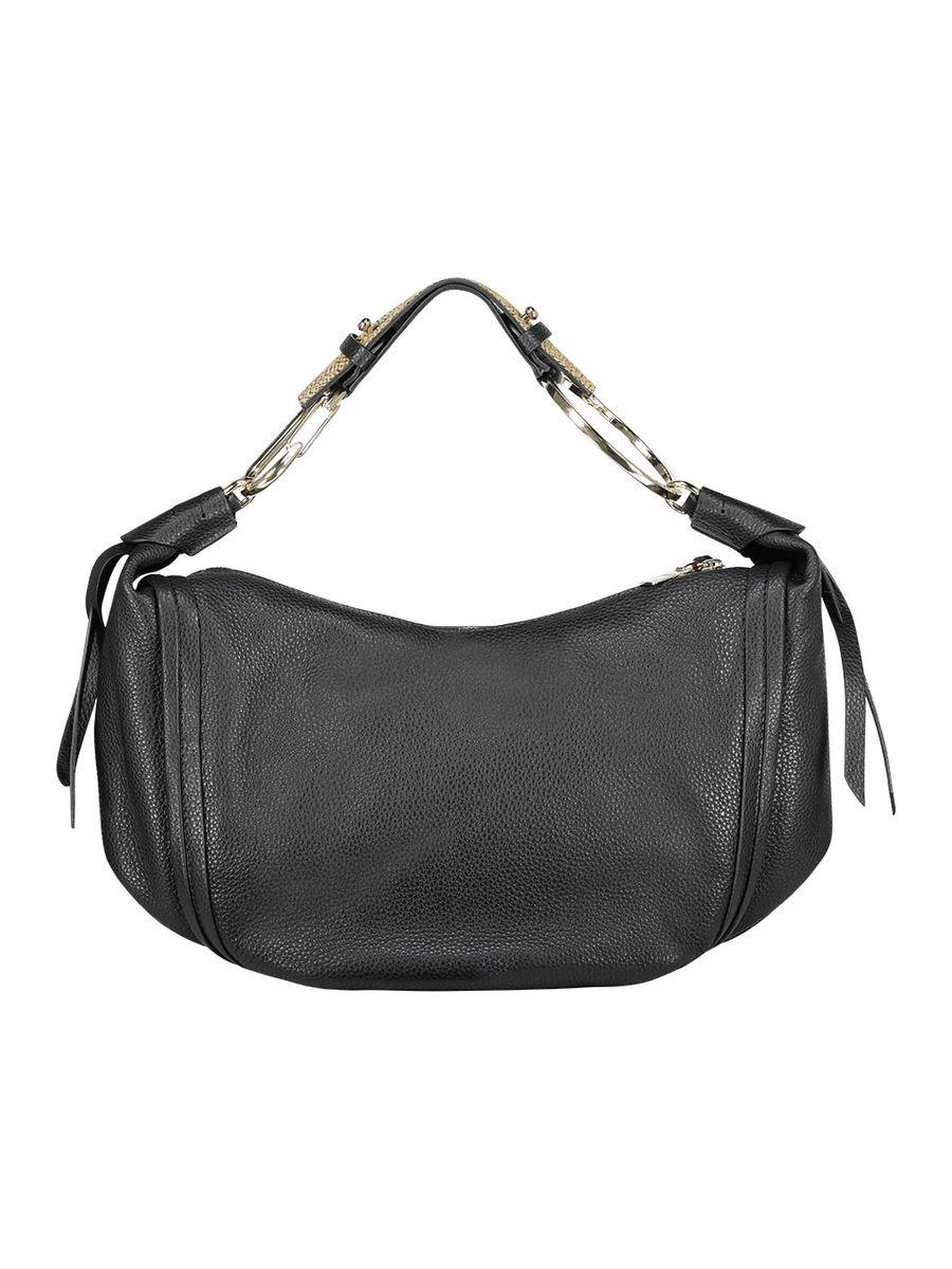 Slouched hobo hand bag