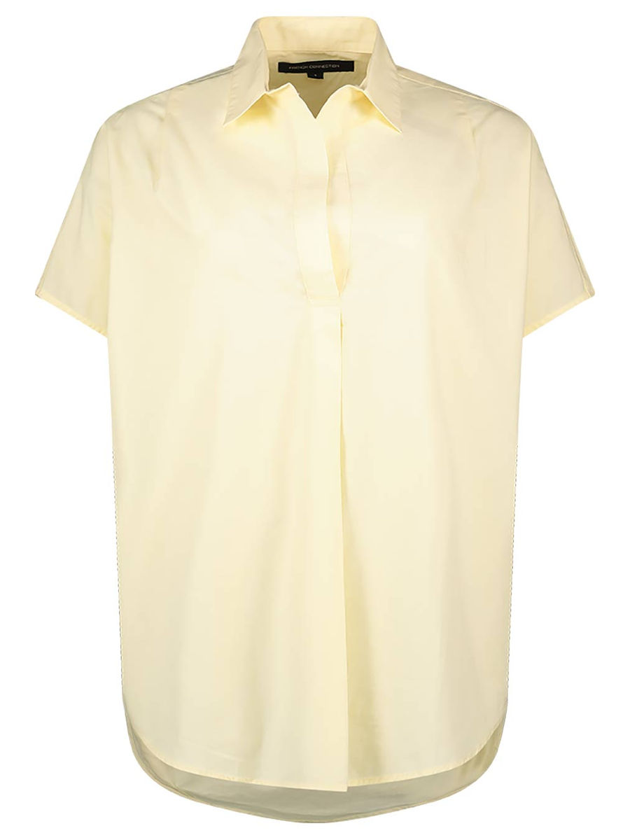 Single pleated cotton top