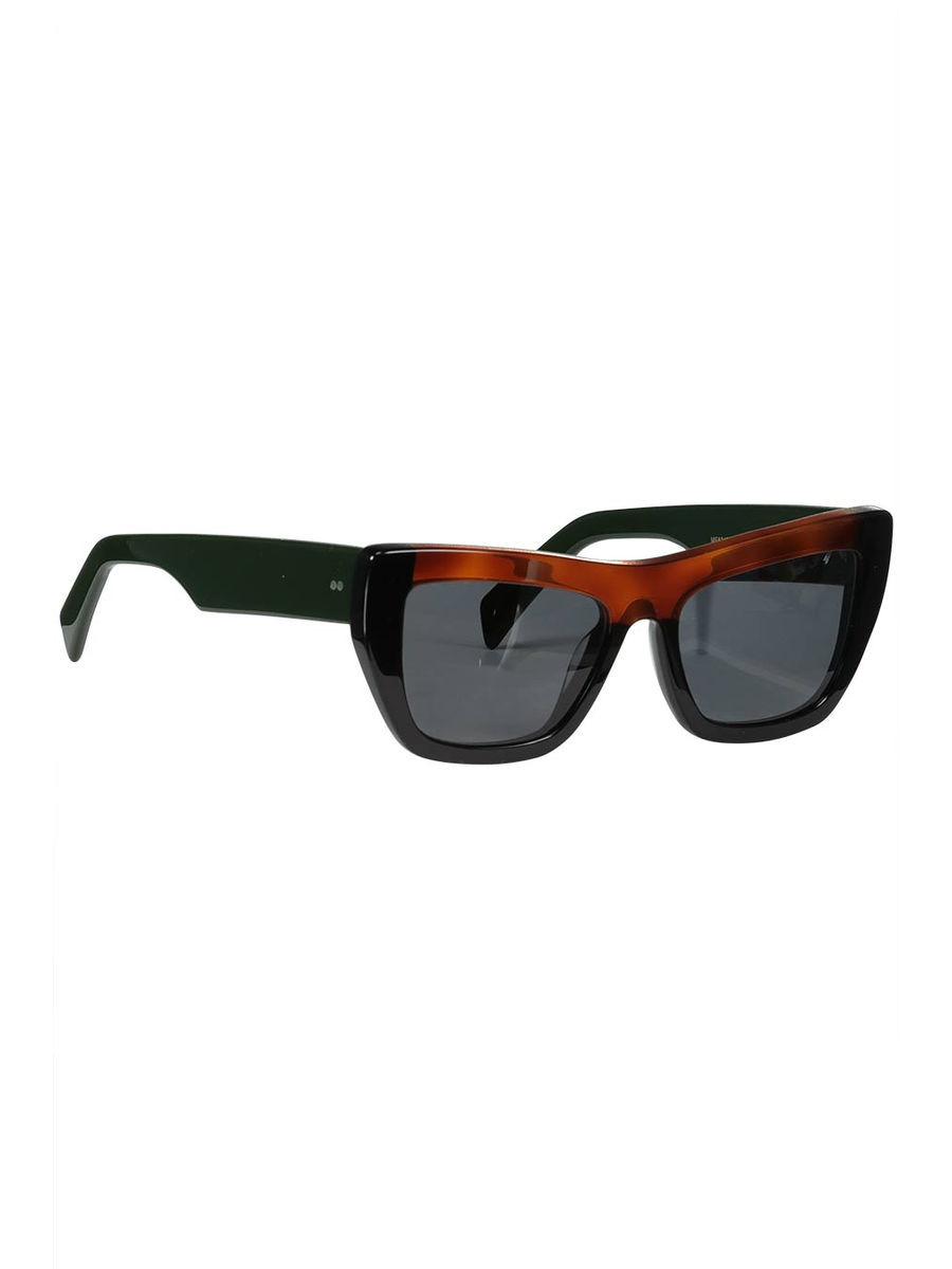 Contrast bridge sunglasses