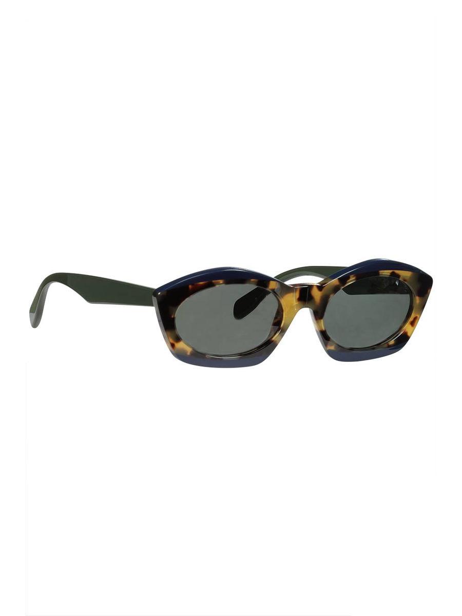 Havana blue sunglasses