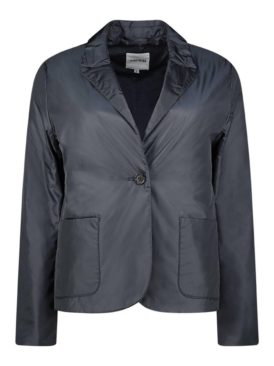 Slim fit structured blazer