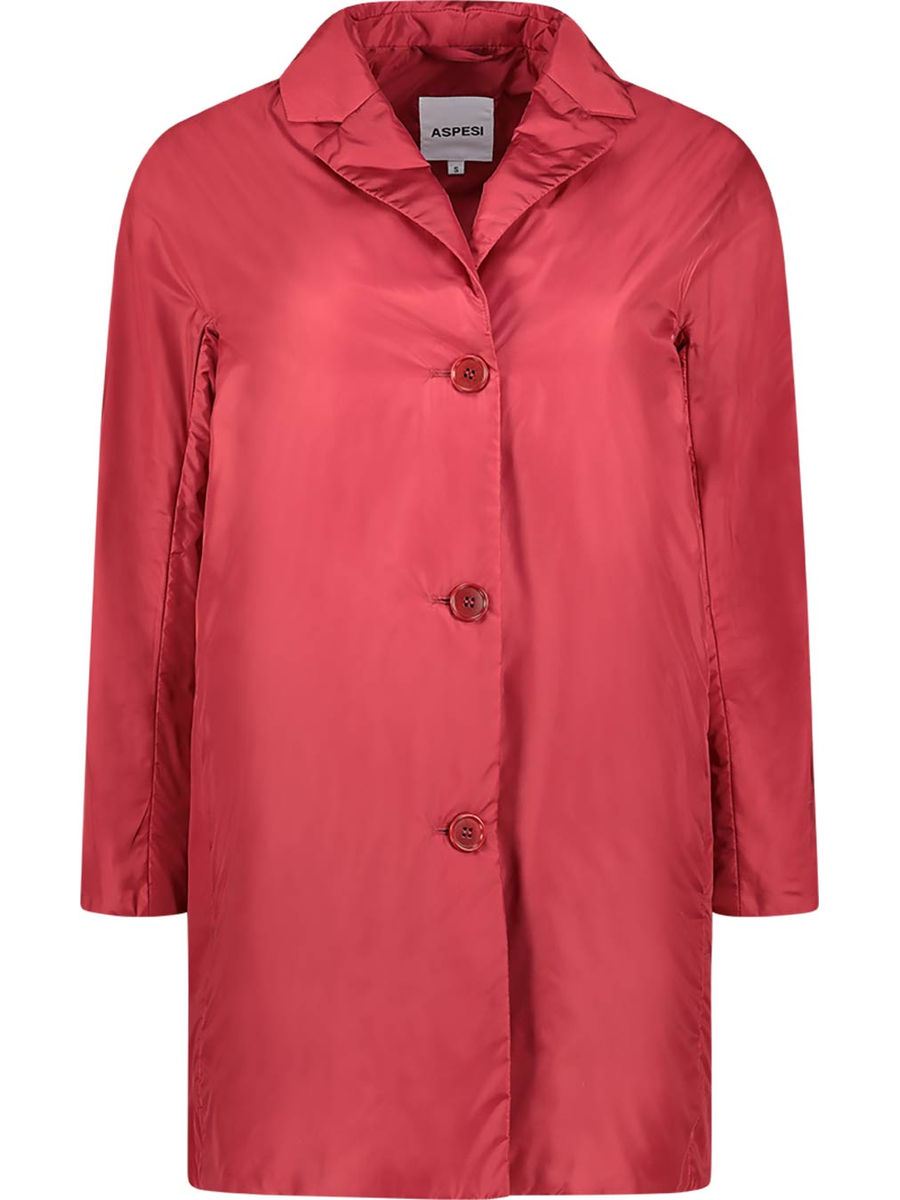 Striking buttoned front jacket