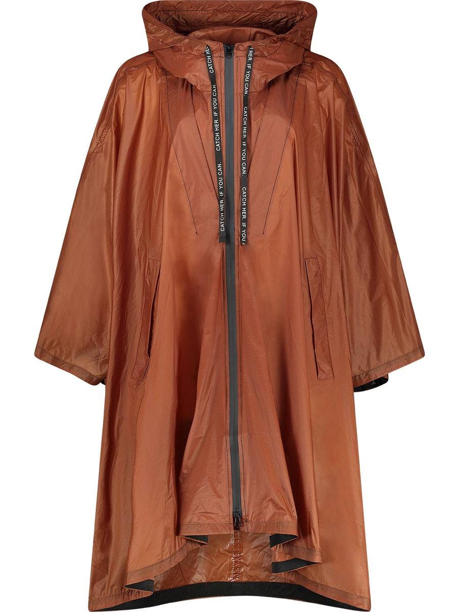 Wide sleeve raincoat